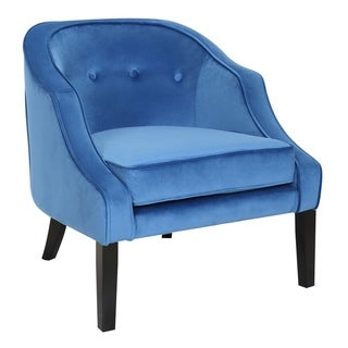Silver Orchid Nazimova Velvet Accent Chair