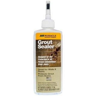Miracle Grout Sealer - 6 oz. Bottle with Applicator