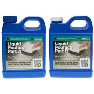 Miracle Liquid Poultice - Quart Part A and Quart Part B
