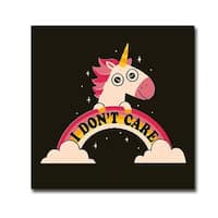 Michael Buxton 'I Don't Care' Gallery-wrapped Canvas Giclee Art