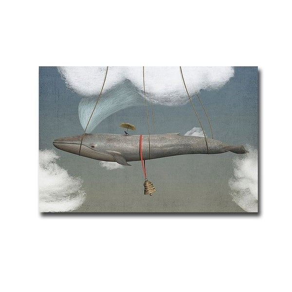Blue by Greg Noblin Gallery Wrapped Canvas Giclee Art. Opens flyout.