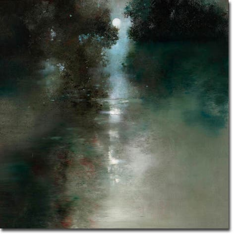 Moon River by Ron Di Scenza Gallery Wrapped Canvas Giclee Art