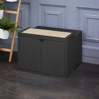 Eco Modern Cat Litter Box Enclosure, Black LIFETIME GUARANTEE