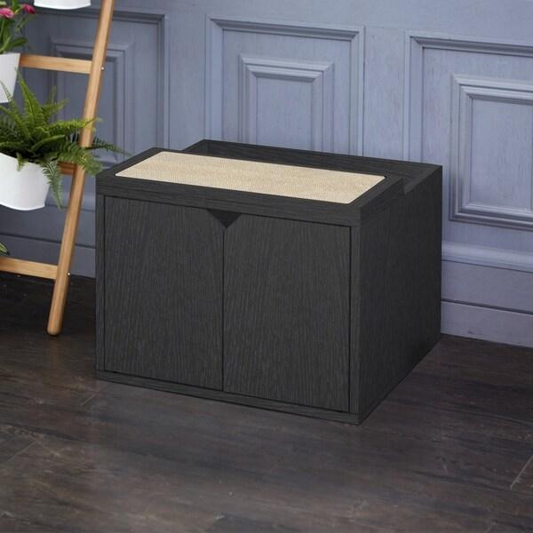 Modern Litter Box: Shop Handmade Modern Cat Litter Box Enclosure (Taiwan