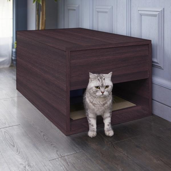 Modern Litter Box: Shop Handmade Modern Cat Litter Box And Sidetable (Taiwan