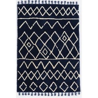 Link to Bali Zag Blue Ivory - 8' x10' Similar Items in Rugs