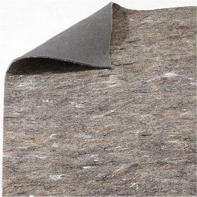 Underlay - Double Sided Rug Pad Grey & Multi - 4'x3.5'