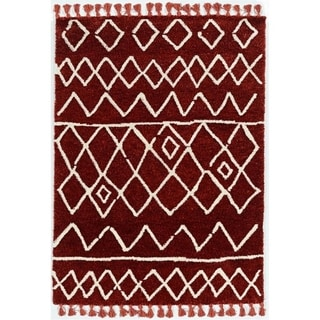 Link to Bali Zot Rust Ivory - 5' x 7' Similar Items in Rugs