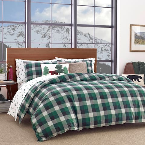 Eddie Bauer Birch Cove Plaid Comforter Set