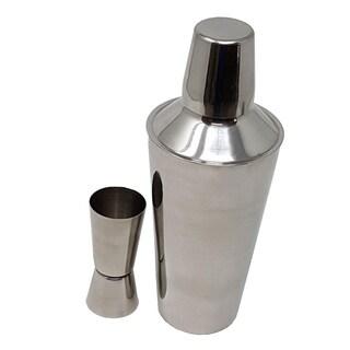 Premium Cocktail Martini Mixologist Stainless Steel double Jigger & Shaker set