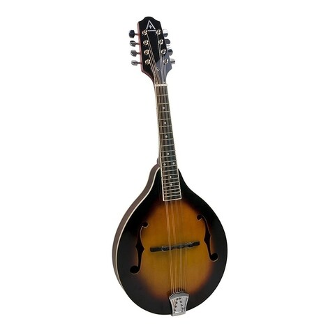 Hohner A Plus AAM40 A-Style Mandolin with Gig Bag, Tobacco Sunburst