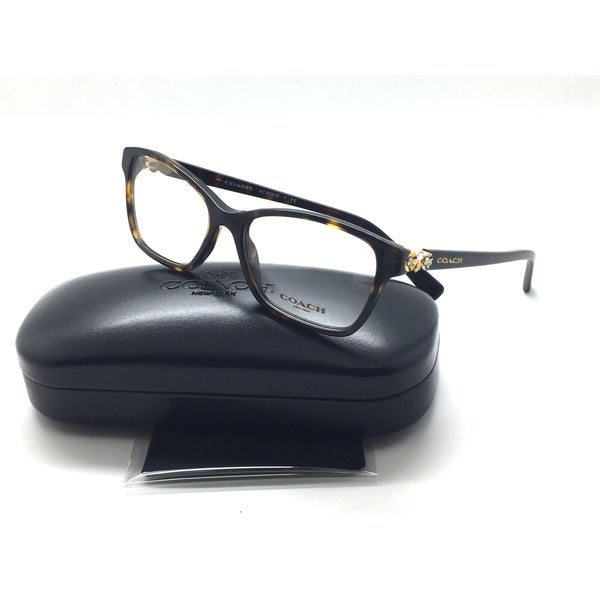 f9f666d56d Shop Coach 6091B 5120 Tortoise Acetate Women s Eyeglasses 53-16-135 ...