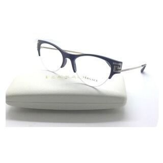 Versace MOD 3226-B 5185 eggplant eyeglasses with crystals 51mm