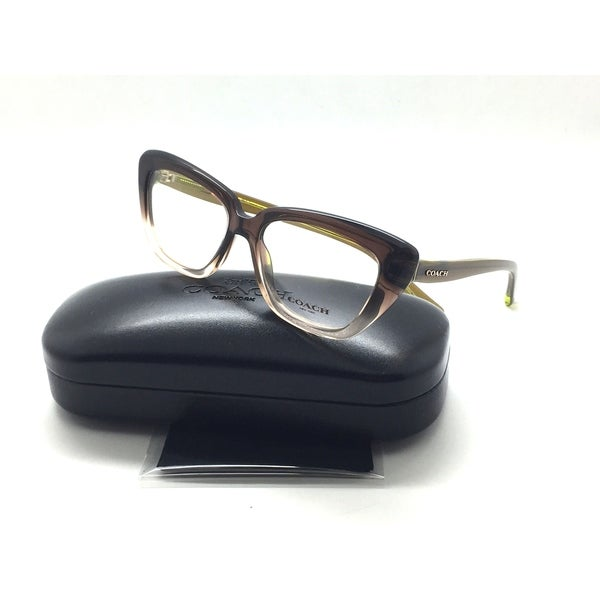 dc2ddb979a Shop COACH HC6090 5400 Olive Brown Gradient Olive Frame 52mm 15 135 - Free  Shipping Today - Overstock.com - 22873137