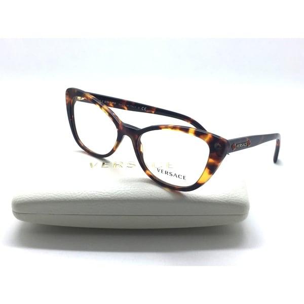 a8ecd7a491a81 VERSACE Eyeglasses 3222-B 5148 52-16 140 Tortoise Cat Eye Frames w