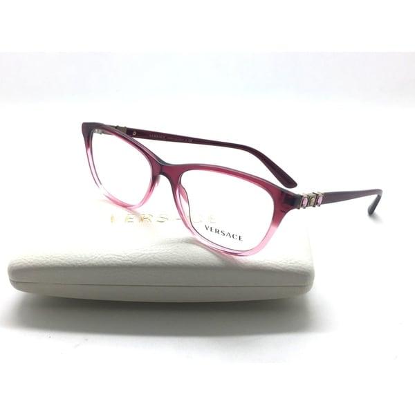 Shop Versace Eyeglasses 3213B 5151 Gradient Pink Frame 54MM - Ships ...