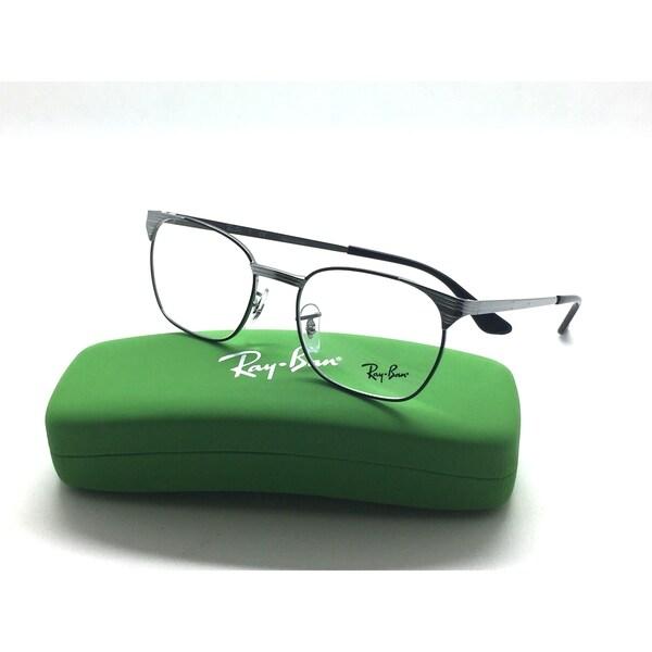 0baa8f3612 Shop RAY BAN Kids Junior Eyeglasses RB 1051 4052 Black Gunmetal 49 ...
