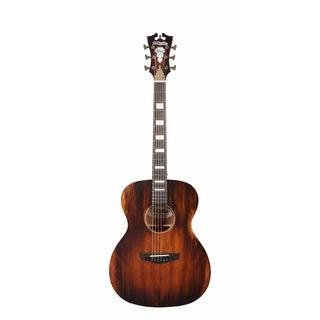 D'Angelico Premier Tammany Acoustic Guitar - Aged Natural