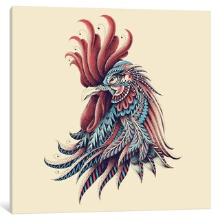 "iCanvas ""Ornate Rooster In Color I"" by BIOWORKZ"