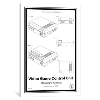 "iCanvas ""NES"" by Retro Patents"