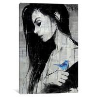 """iCanvas """"Birdlife"""" by Loui Jover"""