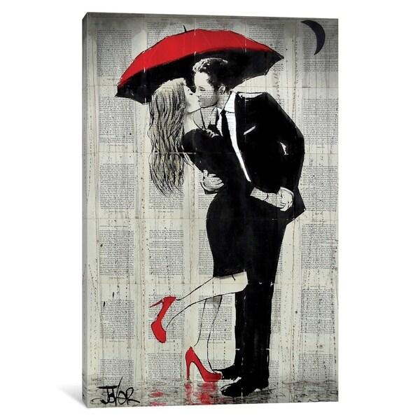 "iCanvas ""The Kissing Rain"" by Loui Jover"