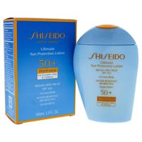 Shiseido Ultimate Sun Protection 3.3-ounce Lotion Wetforce For Sensitive Skin & Children SPF 50+
