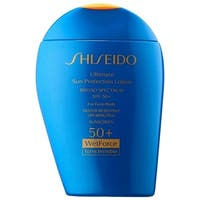 Shiseido Ultimate Sun Protection 3.3-ounce Lotion Wetforce Turns Invisible SPF 50+