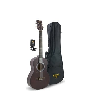 Kohala Player Pack Tenor Ukulele Package, Includes Bag and Tuner - N/A