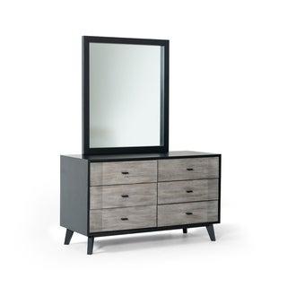 Nova Domus Panther Contemporary Grey & Black Dresser