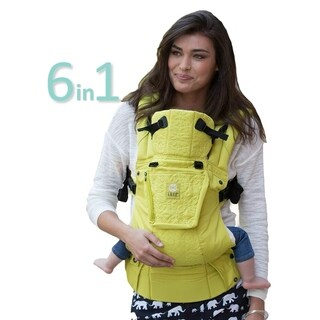 LILLEbaby Complete Embossed Baby Carrier - Citrus