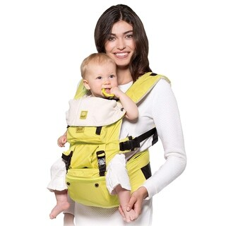 Hip Seat Baby Carrier SeatMe - Microfiber Citrus