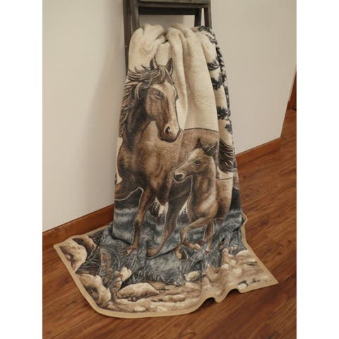 IBENA Oversized Blanket - Mare and Foal
