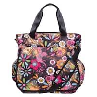 Bohemian Floral Tote Diaper Bag