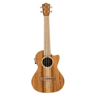 Lanikai All Solid Acacia Tenor with Kula Preamp A/E Ukulele - N/A