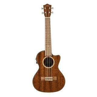 Lanikai All Solid Mahogany Tenor with Kula Preamp A/E Ukulele - N/A
