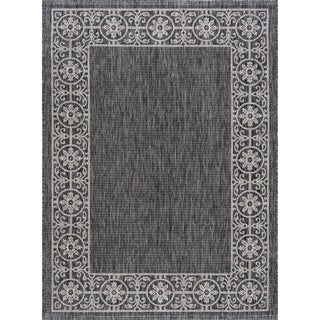 Alise Rugs Colonnade Traditional Border Scatter Mat Rug - 2' x 3'