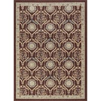 Alise Rugs Majolica Transitional Floral Scatter Mat Rug - 2' x 3'