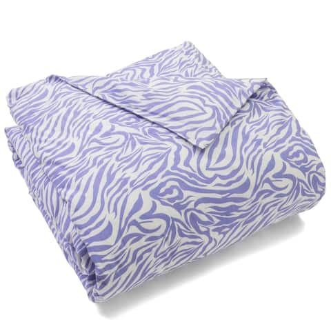 Sia Single Purple Duvet Cover