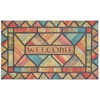 Mohawk Home Doorscapes Welcome Woodland Walk Door Mat (1'6 x 2'6)