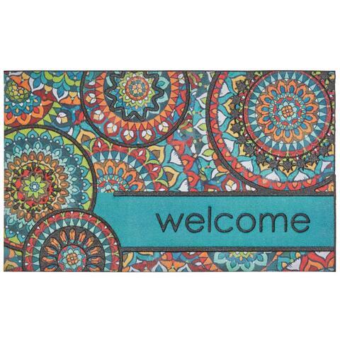 Mohawk Home Doorscapes Welcome Bohemian Kingdom Door Mat (1'6 x 2'6)