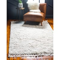 Unique Loom Misty Hygge Shag Area Rug - 8' x 10'