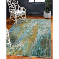 Unique Loom Lilly Jardin Area Rug - 8' x 10'