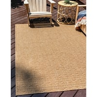 Unique Loom Links Outdoor Area Rug - 8' x 11' 4
