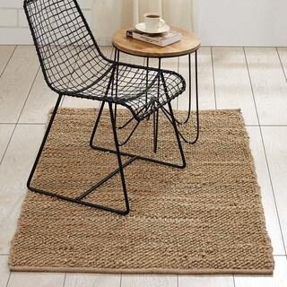 VHC Minneka Farmhouse Boho & Eclectic Flooring Jute Rug