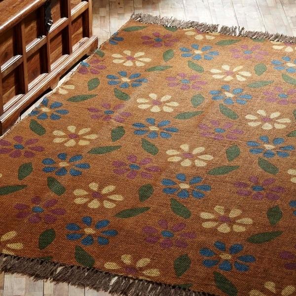 Flooring For Seasonal Homes: Shop VHC Somerville Ginger Orange Farmhouse Seasonal
