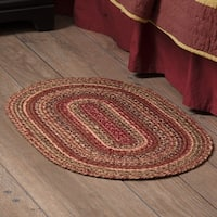 Red Primitive Flooring VHC Cider Mill Rug Jute - 5' x 8'