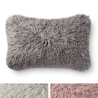 Shag Solid Shimmer 13 x 21 Pillow Cover