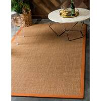 Unique Loom Natural Sisal Rug - 5' x 8'