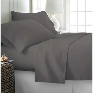 400 Thread Count Egyptian Cotton Sheet Set King Grey